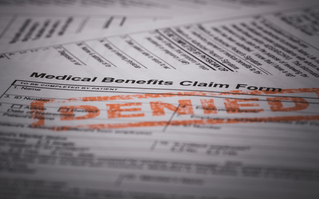 Top 10 Most Common Claim Denials